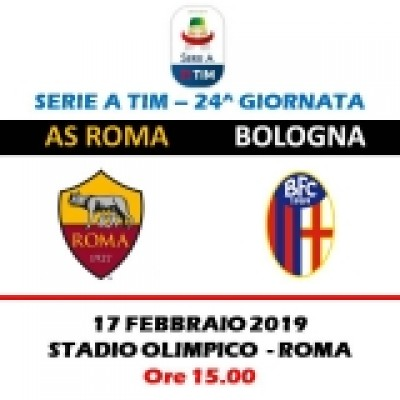 AS ROMA - BOLOGNA SERIE A TIM