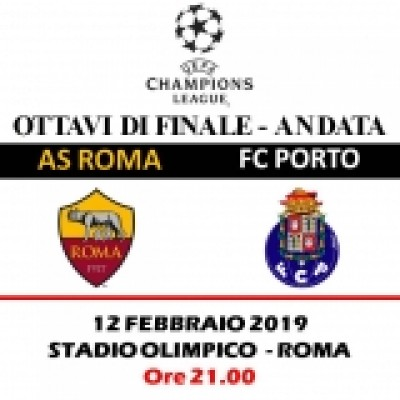 AS ROMA - FC PORTO UEFA CL