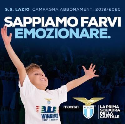 CAMPAGNA ABBONAMENTI LAZIO 2019-2020