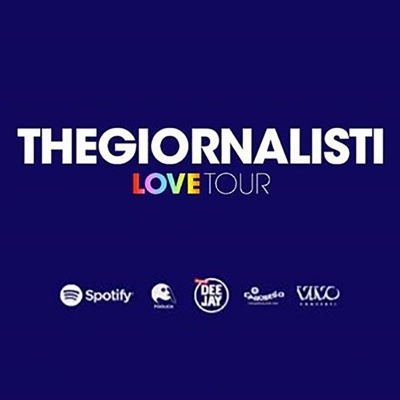 THEGIORNALISTI - LOVE TOUR 2018 - ROMA