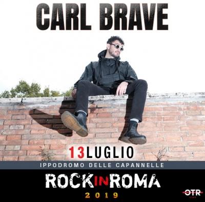 CARL  BRAVE - ROCKinROMA2019