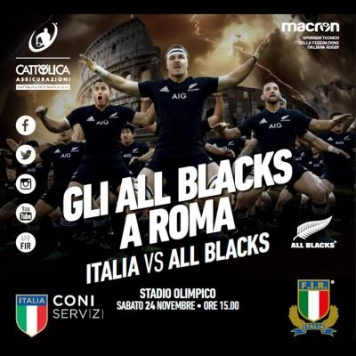 ITALIA VS ALL BLACKS