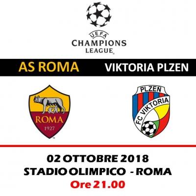 AS ROMA -  FC VIKTORIA PLZEN