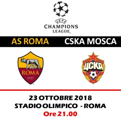 AS ROMA -  CSKA MOSCA