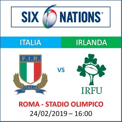 ITALIA VS IRLANDA - RUGBY SIX NATIONS