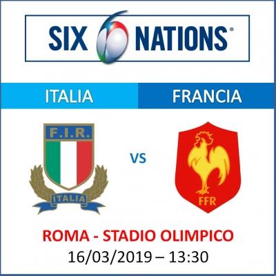 ITALIA VS FRANCIA - RUGBY SIX NATIONS