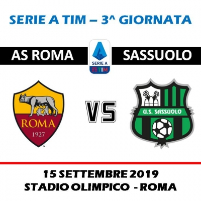 AS ROMA - U.S SASSUOLO