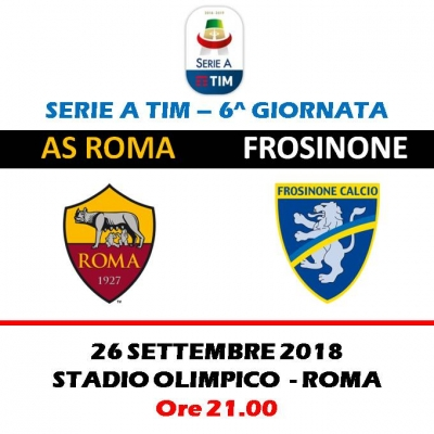AS ROMA -  FROSINONE CALCIO