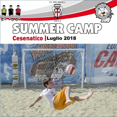 SUMMER CAMP - CALCIO