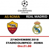 AS ROMA -  REAL MADRID