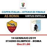 AS ROMA -  ENTELLA             COPPA ITALIA