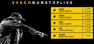 VASCO NON STOP LIVE 2018